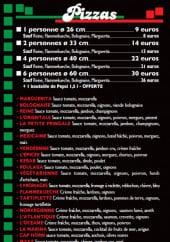 Menu La petite fringale - Les pizzas