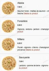Menu Pizza du Champ de Foire - Les pizzas bases crèmes