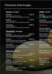 Menu Point US - La carte