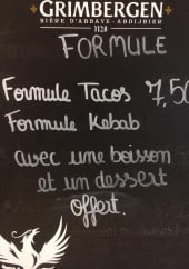 Menu Smart Foodie - Les formule