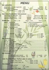Menu Bubble Zen - Les menus