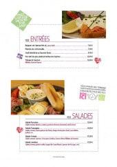 Menu Le QG - Les entrées et salades