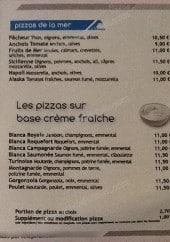Menu La Royale - Les pizzas base creme