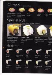 Menu Naka naka - Les chirashis, spécial rolls et makis