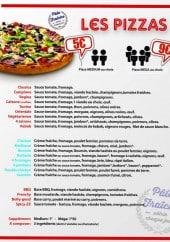 Menu Good'Snack - les autres pizzas