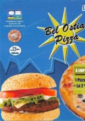 Menu Pizza Bel Ostia - Carte et menu Pizza Bel Ostia Evry