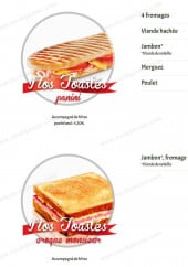 Menu Le Royal - Les toastes