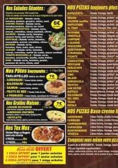 Menu Gino Pizza - Les pizzas, les salades, les pâtes gourmandes, les graints...