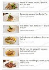 Menu La Ciboulette - Pressé de tête de cochon, figues et abricots secs ...