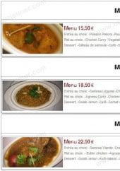 Menu Pak Food - Les menus suite
