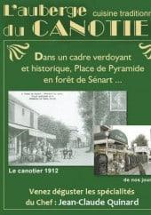 Menu L'auberge du Canotier - Carte et menu L'Auberge du Canotier Brunoy