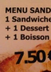 Menu Le Campus - Le menu sandwich