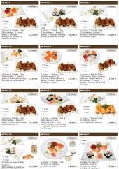 Menu Sushi wako - Les menus mixtes