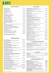 Menu Monde du Brésil - Spécialités , burgers, entrées,....