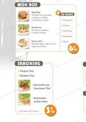 Menu Thaï in Box - Les menus et formules