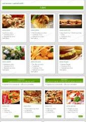 Menu Bella Pizza - Les menus