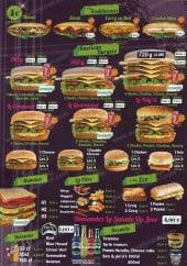 Menu L'Authentik - Les repas  traditionnels, les burgers,...