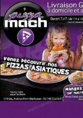Menu Pizza Mach - Carte et menu Pizza Mach  Clamart