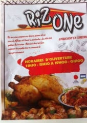 Menu Riz One - Carte et menu Riz One Clamart