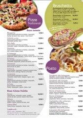 Menu Tutto Gusto - Les pizzas, les brushettas et les pâtes