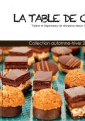 Menu La Table de Cana - Carte et menu automne- hiver La Table de Cana Antony