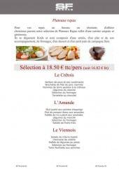 Plateaux repas (entreprise)