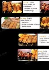 Menu Sushi Antony - Les brochettes