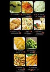 Menu Sushi Antony - Les entrées