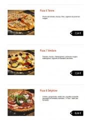 Menu Matteo Pizza - Les pizzas: Tonno, Verdura ...
