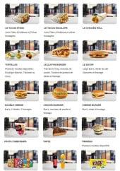 Menu Chicken 94 - Les plats, desserts et boissons