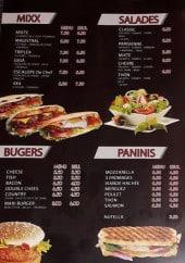 Menu Bringo - Mixx, salades, burgers,....