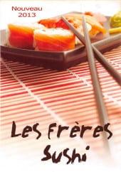 Menu Les Frères Sushi - Carte et menu Les Frères Sushi Levallois Perret
