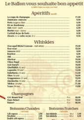 Les aperitifs; whiskies; champagnes...