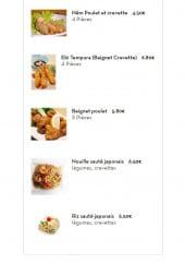Menu SushiBar - Les plats suite