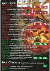 Menu Délice Pizza - Les pizzas
