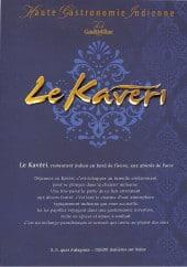 Menu Le Kavéri - Carte et menu Le Kavéri Asnieres sur Seine