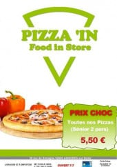 Menu Pizza'in - Carte et menu Pizza'in Asnieres sur Seine