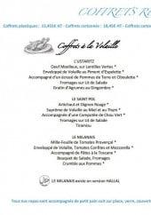 Menu Bleu à Table - Les coffrets repas azur
