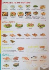 Menu Fukumi Sushi - Les entrées, les plats chauds,....