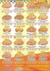 Menu M pizza - Les pizzas