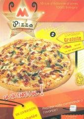 Menu M pizza - Carte et menu M pizza Bobigny