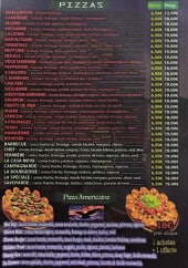 Menu Speed & Fresh - Pizzas