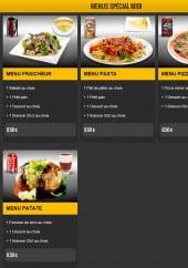 Menu La Medina - Les menus midi