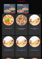 Menu Mangez Moi - les pizzas tomate