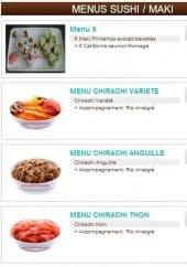 Menu Un Amour de Sushi - Menus sushi/makis