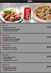 Menu Pasta Nova - Les menus