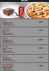 Menu Pasta Nova - Les menus midi