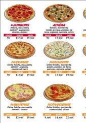 Menu Pizz@ times.com - Les pizzas