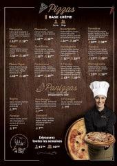 Menu Woodiz - Pizzas base crème et panizzas