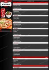 Menu Pizza Le Maestro - Menus Midi